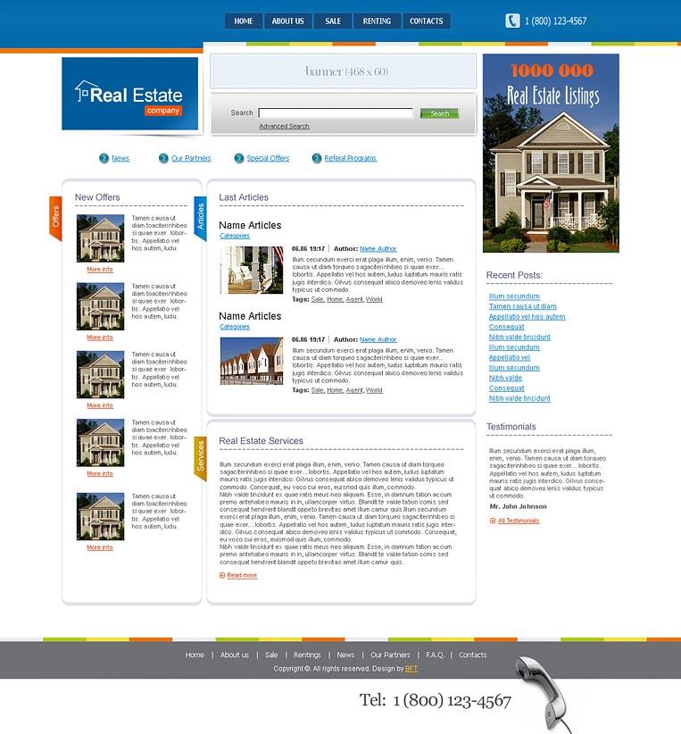 Шаблоны сайтов на HTML и CSS: www.site-do.ru/templates